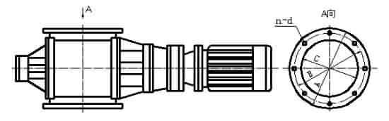星型卸料器-YCD-HX型