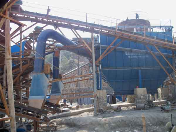 矿山石材厂除尘设备