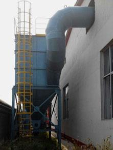 铸造电炉chuchen器安装现场