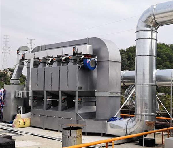 催化燃shaofei气装置